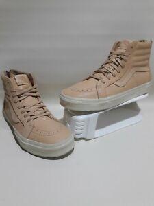 132 Hommes Veggie 8a155 Vans Hi En Pour De Claires Chaussures Montantes Sk8 Cuir Brunes Skate q6Zxfn7YwU