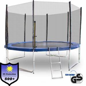 Trampolin-366-370-Outdoor-Gartentrampolin-Komplettset-3-66m-3-70m
