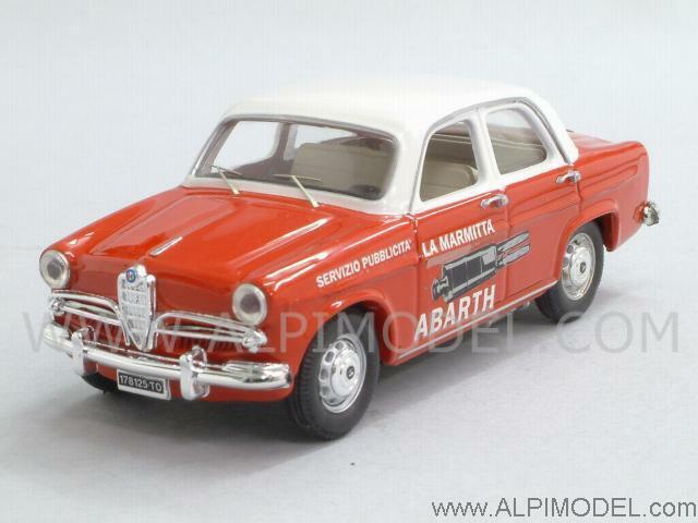 Alfa Romeo Giulietta 'La Marmitta Abarth' 1957 1 43 RIO 4218