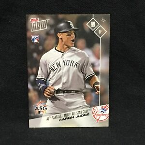 AARON JUDGE YANKEES  2017 TOPPS NOW ALL STAR GAME #AS-14
