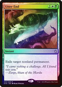 MTG Magic Khans of Tarkir Foil Near Mint Rare End Hostilities