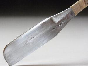 Medium Blade! Shave Ready! RAZORUCHI J*apanese Straight Razor #B-779