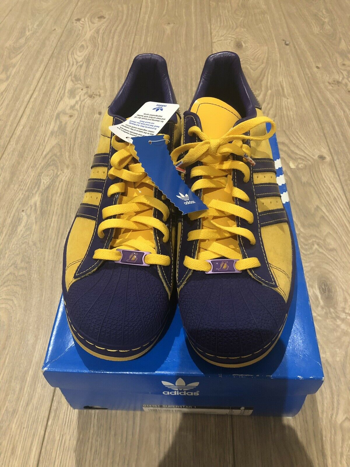 Rare Adidas Superstar1 NBA LA Lakers