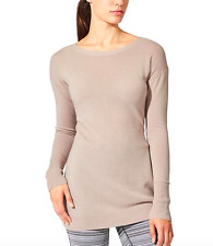 Athleta Cardamon Spice Reversible Tunic Cashmere Sweater XXS | eBay