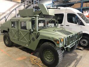 1985 HMMWV M998 Military HUMVEE Slantback Hummer H1 Army Jeep
