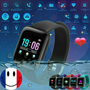 Bluetooth-ID116-Plus-Smart-montre-frequence-cardiaque-Bracelet-Fitness-Tracker