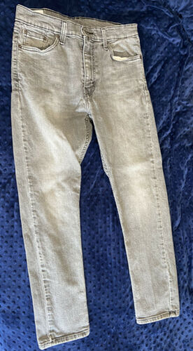 Levi's men's Jeans 510 33 W 30 L Grey Gray