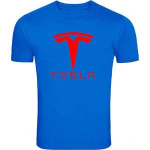 593064ec3 Tesla motors car Elon Musk fan moto rally electric nikola nerd geek t-shirt