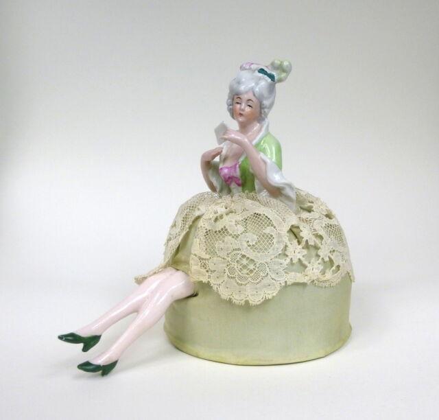 Teepuppe Half Doll um 1900 Puppe