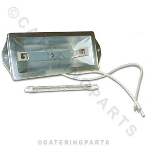 La37 Heated Gantry Food Safe Light Kit With Glass Cover And 150w Bulb 220v Lamp Ebay