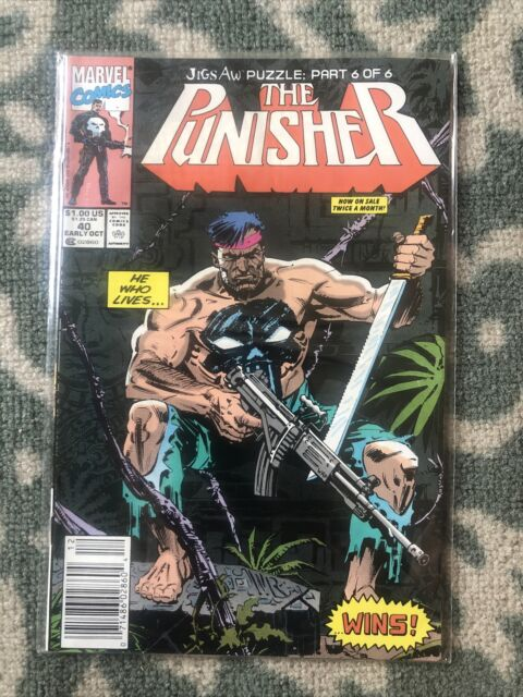 Marvels the punisher #40 New/like New News Stand