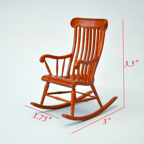 Miniature HighEnd Windsor Rocking Chair 2855WN dollhouse miniature WN