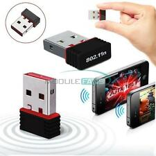 New 150Mbps 802.11N/G/B Mini USB WiFi Antenna Wireless Network LAN Card Adapter