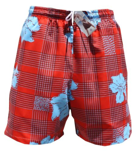 Pantaloncini da bagno bermuda costume a quadri 912-2 acceso in M L XL XXL XXXL 2xl 3xl