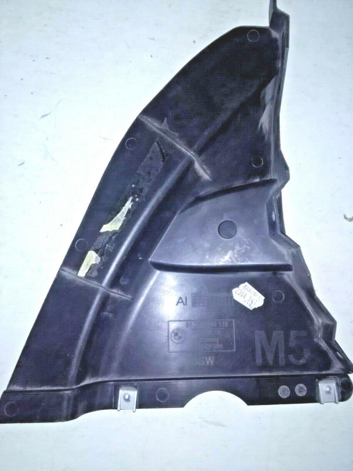 BMW OEM 06-10 M5 Splash Shield-Under Engine Side Cover Right 51758040119