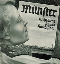 Castelle, Münster Westfalen s schöne Hauptstadt, Prospekt a. Drittes Reich, 1937