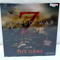 World War Z The Board Game Zombies Movie Zombie University Games