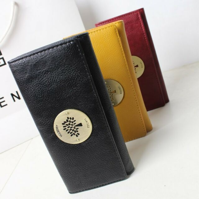 2016 Vintage Tree Clutch Checkbook Change Coin Bag Women Purse Handbag Wallet
