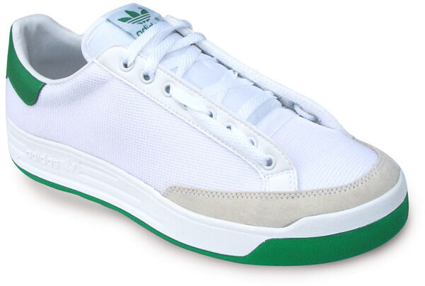 Adidas Rod Caja Laver Super Calzado para Tenis Nuevo En Caja Rod Para Hombre, Blanco/Verde 5853a1