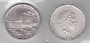 COOK-ISLANDS-COLORED-1-UNC-COIN-2012-YEAR-TITANIC-SHIP-MAIDEN-VOYAGE