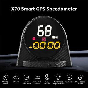 Autool-GPS-HUD-Speedometer-Overspeed-Alarm-Compass-Digital-Meter-Gauge-MPH-KMH