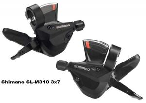 Shimano-ALTUS-SL-M310-3X7-21-Speed-Gear-Lever-Shifters-Bicycle-Cycling-MTB-Black