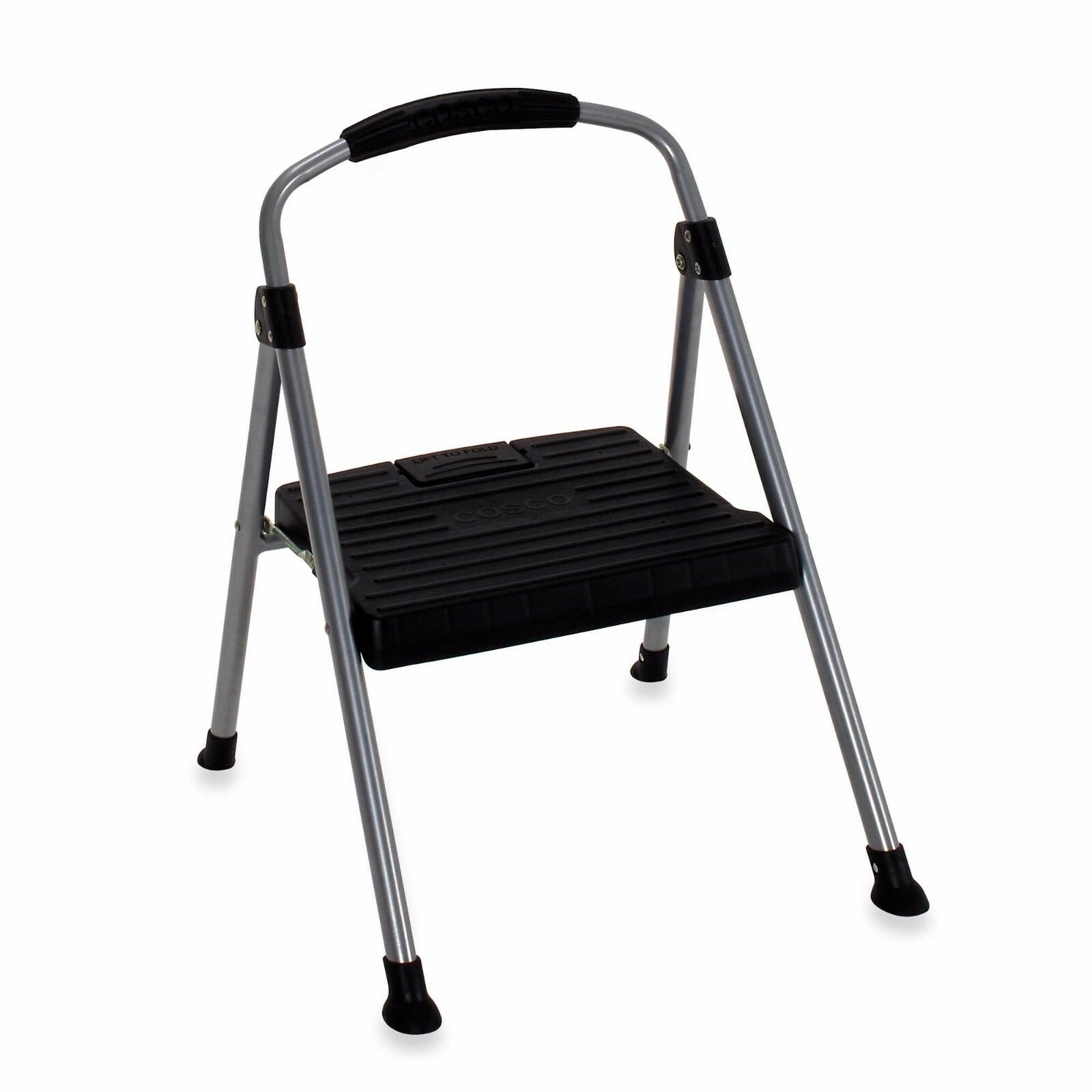 Lightweight Signature 1 Step Ladder Home Kitchen Bedroom Household Folding Stool