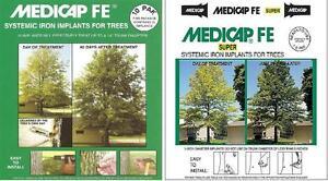 Medicap-FE-Systemic-Iron-Implants-Plugs-10-pack-chlorosis-oak-Standard-or-Super