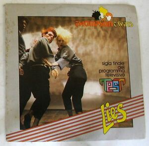 THOMPSON-TWINS-LIES-BEACH-CULTURE-45gg-7-034-NUOVO