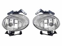 Depo Replacement Fog Light Lamp Set Left + Right Fit For 07-09 Hyundai Santa Fe