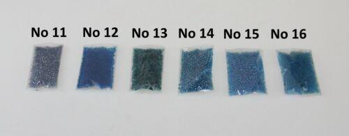 Bolsa De Semilla Cuentas Azul Azul De Bebé Azul Oscuro Artesanía Coser joyas 11//0 2.1 mm