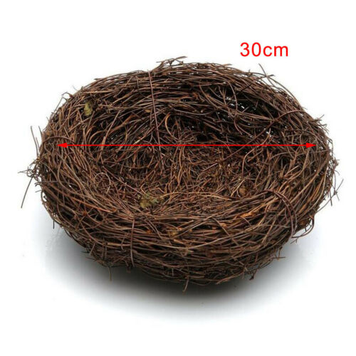 15-35cm Traditional Novelty Bird Nesting Box Nest Boxes House Garden Birds Nest