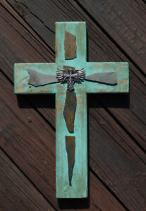 Details About Wooden Cross Wall Hanging Wood Cross Home Decor Art Gift Rustic Farmhouse