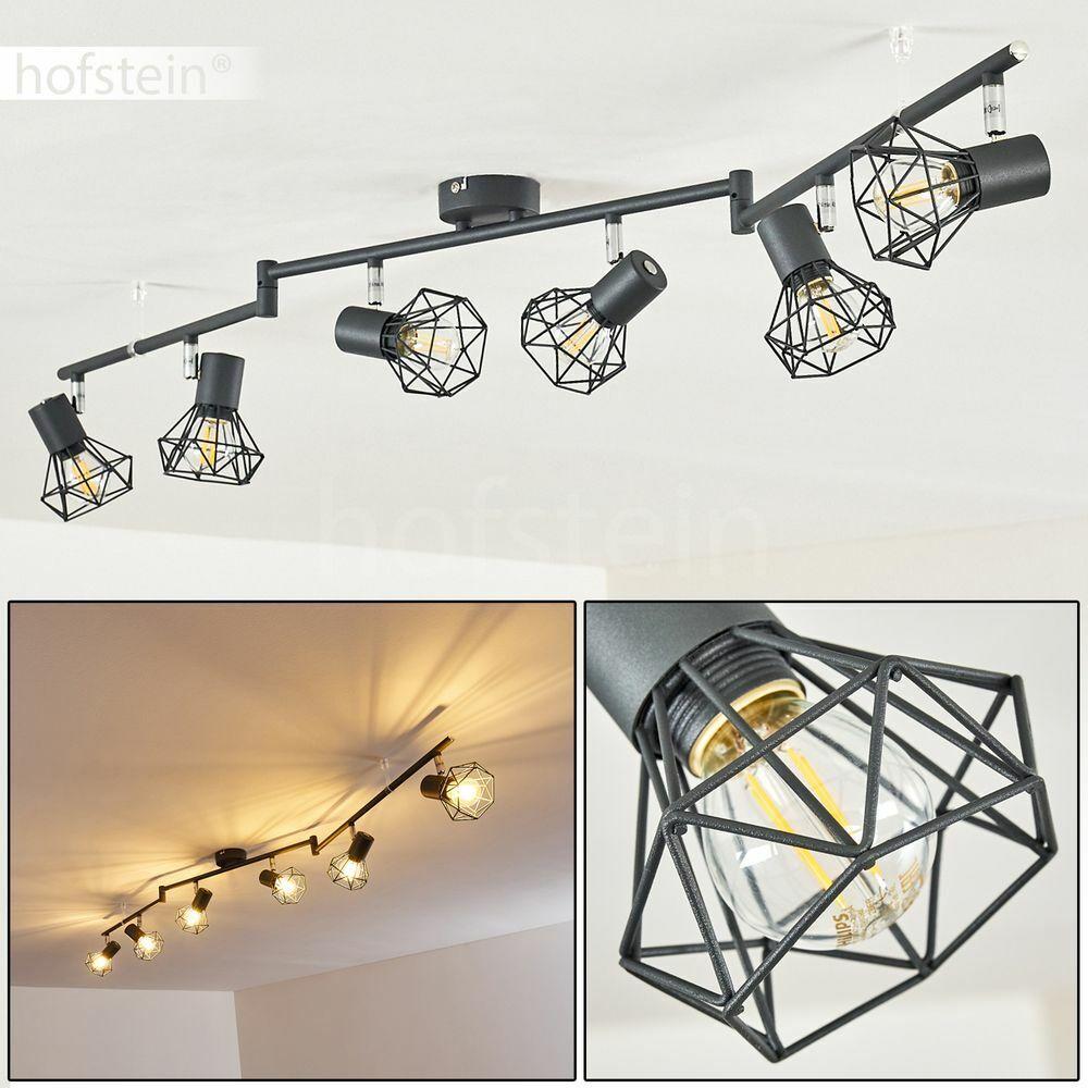 Vintage Flur Ess Wohn Schlaf Zimmer Lampen Holz Decken Beleuchtung verstellbar
