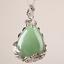 Natural-Quartz-Crystal-Stone-Teardrop-Flower-Healing-Gemstone-Pendant-Necklace thumbnail 15