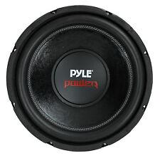 """PYLE PLPW12D 12"""" 1600W 4Ohm DVC Black Car Stereo Audio Power Subwoofer Dual Coil"""