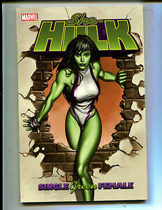 She hulk vol 1 single green female tpb 80 1st print ebay image is loading she hulk vol 1 single green female tpb ccuart Image collections