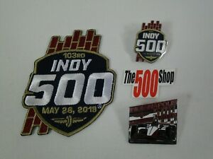2019-Indianapolis-500-103RD-Collector-Event-Car-Mount-Pin-Patch