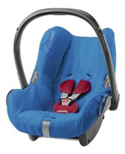 maxi cosi sommerbezug cabriofix blau schonbezug ersatzbezug babyschale bezug ebay. Black Bedroom Furniture Sets. Home Design Ideas