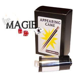 Canne à apparition Version NOIR - Appearing Cane - Tour de magie