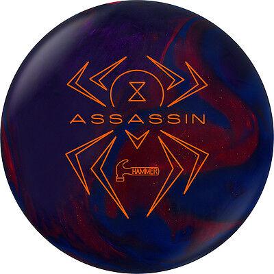 Hammer Black Widow Assassin Bowling Ball NIB 1st Quality