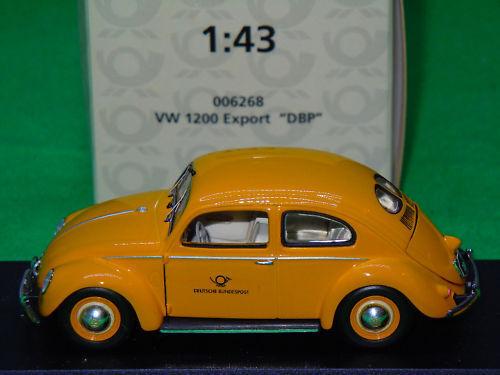 Venta en línea precio bajo descuento Escaso temprano Minichamps VW Beetle DBP alemán Deutsche Post 006268 006268 006268 1 43 nuevo MB  edición limitada