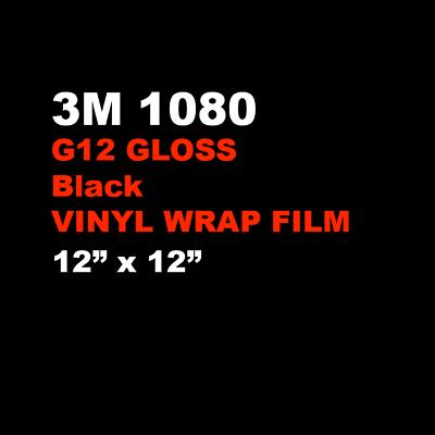 """3M Scotchprint Matte White Wrap Film 12/""""x24/"""" 2 sq ft."""
