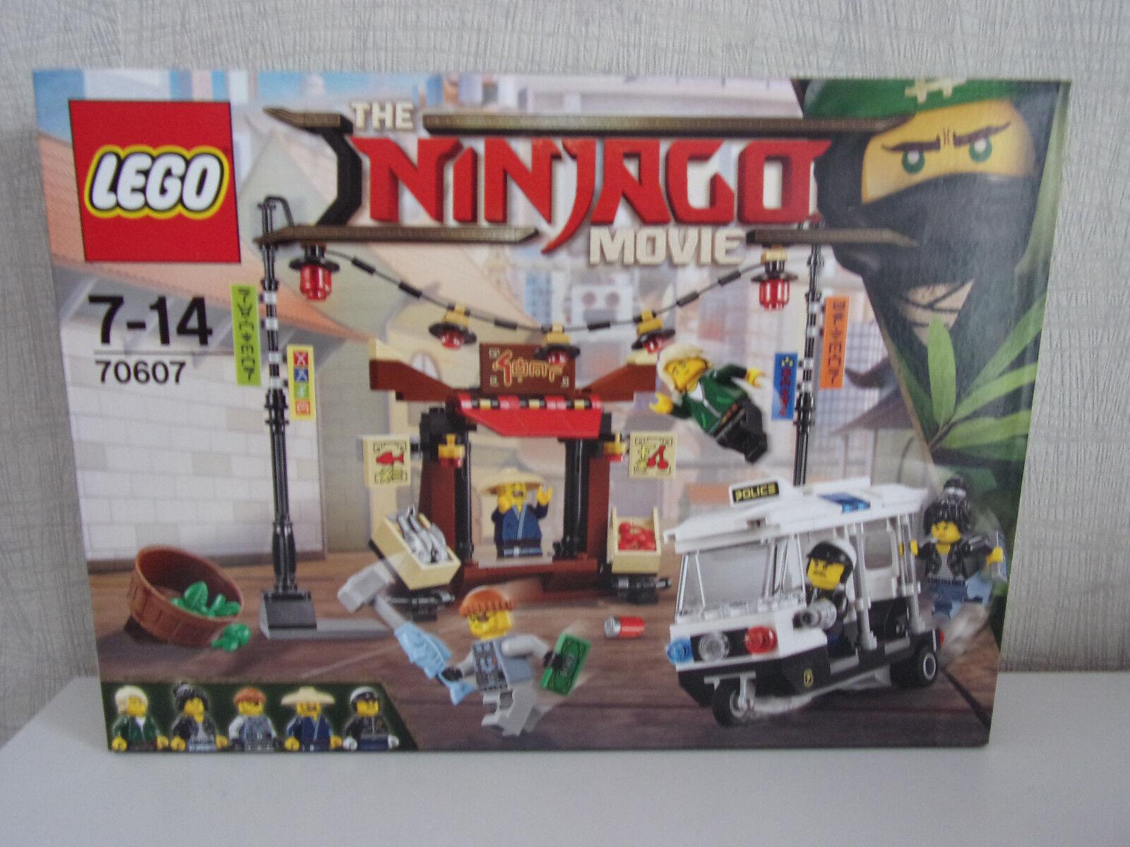 Lego The Ninjago Film 70607 Course-Poursuite en City - Neuf et Emballage