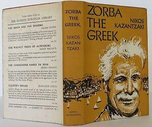 zorba the greek book