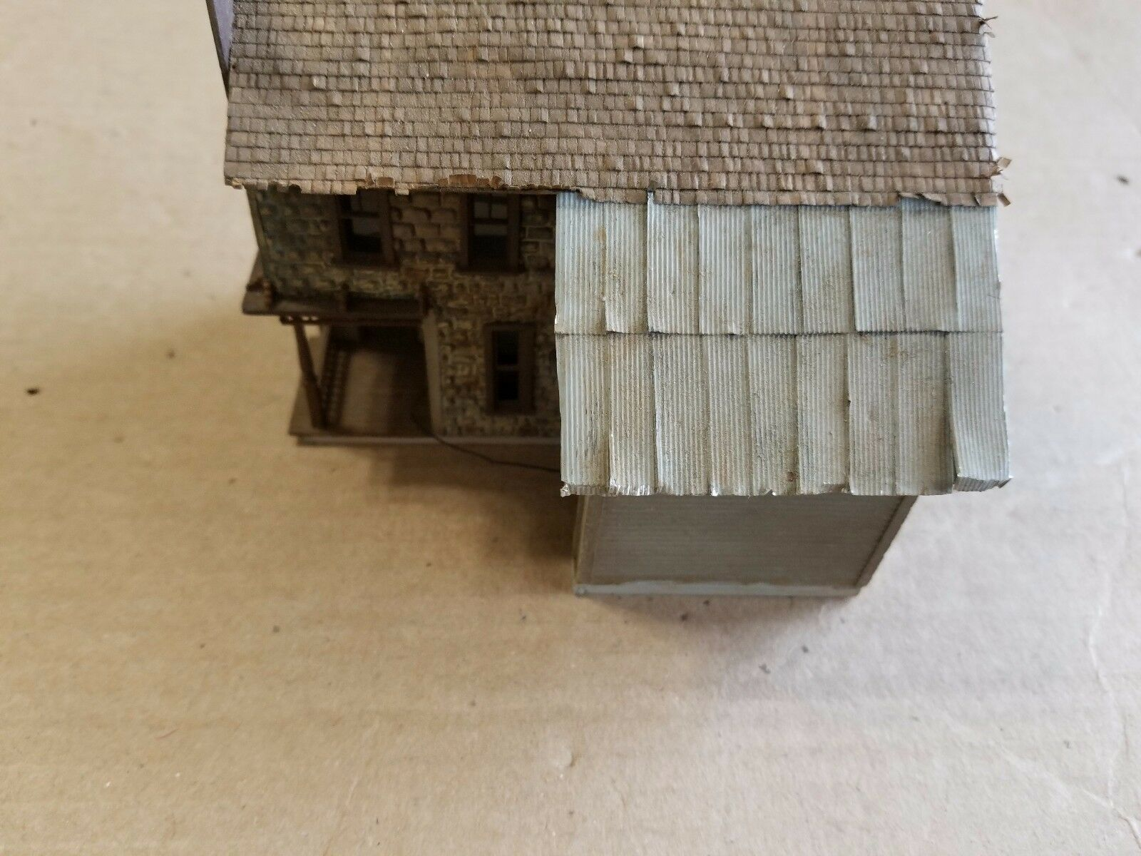 HO Scale Craftsman Stone House