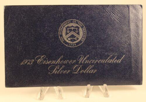 1973 Eisenhower Uncirculated Silver Dollar