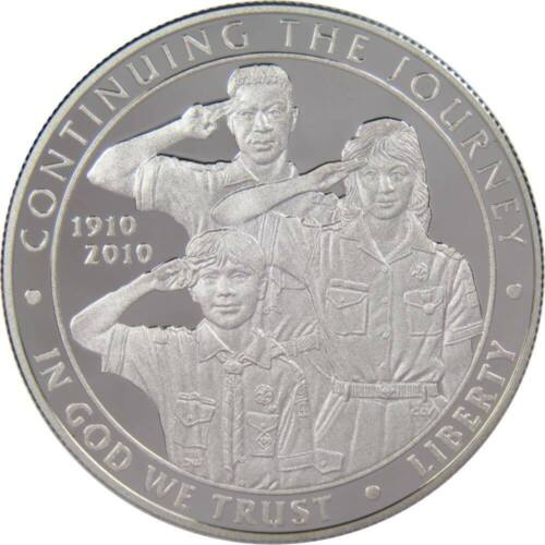 2010-P Boy Scouts or America Centennial Commemorative Silver Dollar Choice Proof