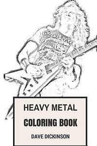 Details About Heavy Metal Coloring Book Classical British Steel And American Thrash Inspi