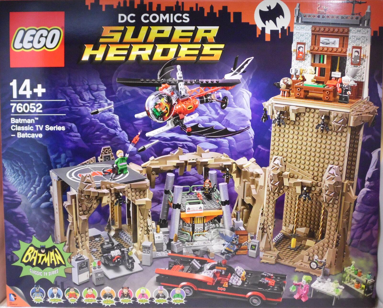 LEGO DC Super Heroes 76052 Batman Bathöhle Batcave incl. 9 Figuren NEW RAR NEU